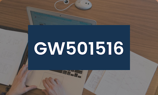 Person researching information about Cardarine/GW501516 on their laptop